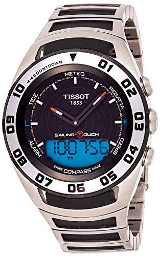 Tissot Herren Analog Quarz Uhr mit Kautschuk Armband T0564202105100