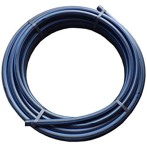 PN10 Elysee PP-Fittings 25mm Klemmkupplungen, Winkel, T-Stück, PE-Rohr, Reuduzierungen, Kupplung, Endstopfen, Trinkwasserzertifiziert, Größe: PE-Rohr 25mm, 25Meter, PN12,5 1,25€/m