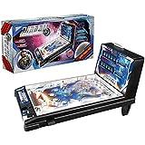QHW Regalos de cumpleaños para niños, Juegos de Pinball electrónicos espaciales, máquinas de Pinball con Rompecabezas para Padres e Hijos, máquinas recreativas Retro con Luces y Sonidos,