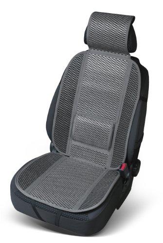Preisvergleich Produktbild Bottari 12301: Sitzauflage Carrera,  grau,  1 Teil aus Bambus