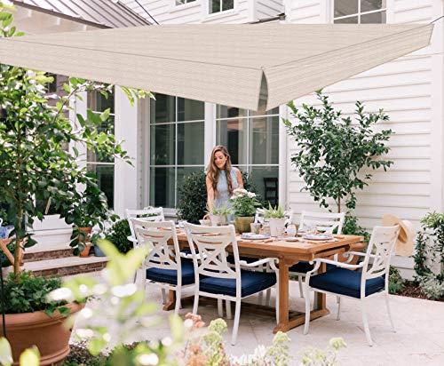 Love Story Toldo cuadrado Monterey de 9 pies x 9 pies 10 pulgadas con bloque UV para patio al aire libre y jardín