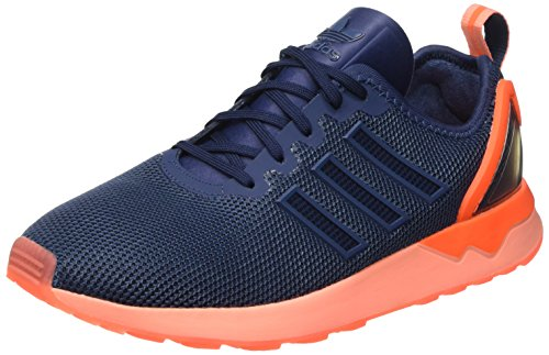 adidas Herren Zx Flux ADV Laufschuhe, Blau (Mini Blue/Mini Blue/Solar OrangeMini Blue/Mini Blue/Solar Orange), 41 1/3 EU