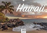 Hawaii - Sommer, Sonne, Urlaub (Wandkalender 2022 DIN A3 quer): Hier kommt Urlaubsfeeling auf, einzigartig und sommerlich. (Monatskalender, 14 Seiten )
