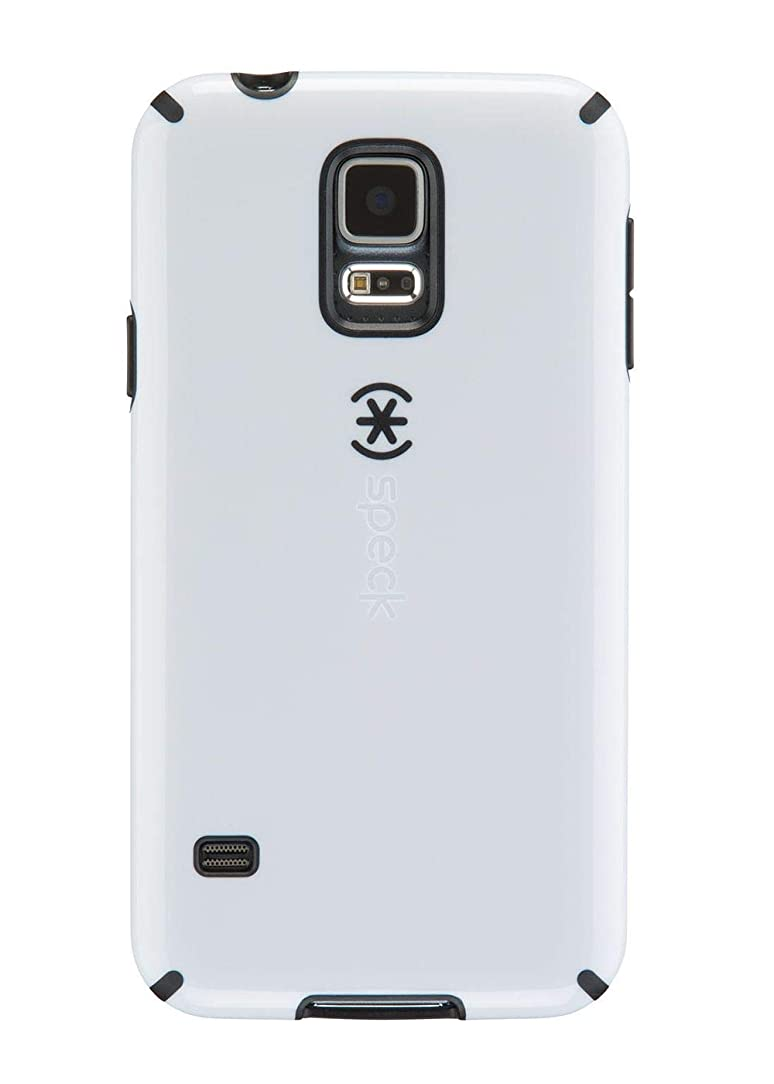 Speck Candyshell Case Compatible with Samsung Galaxy S5 White Black