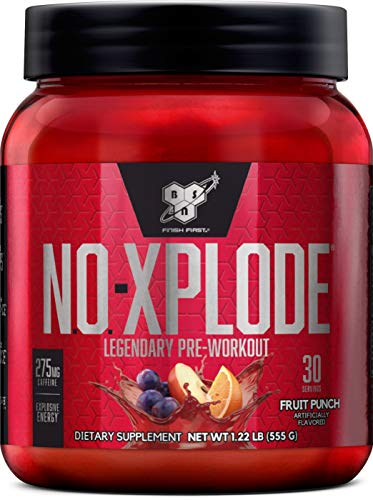 BSN N.O.-XPLODE Pre-Workout Supplement with Creatine