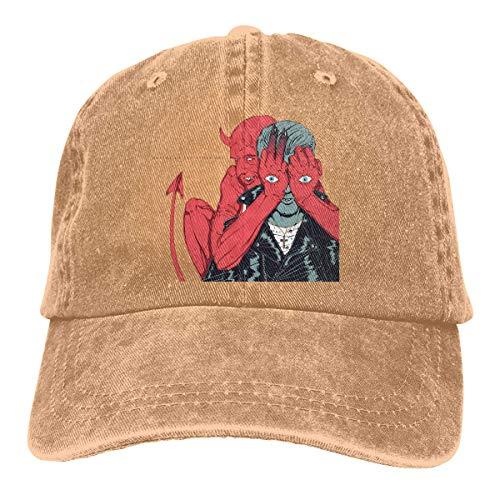 Wagroo Unisex Denim Dad Hat Adjustable Plain Cap Style Low