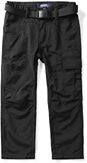 Phorecys Kids Boys Youth Hiking Pants, Outdoor Travel Safari Quick Dry Lightweight Trousers Age of 3-16