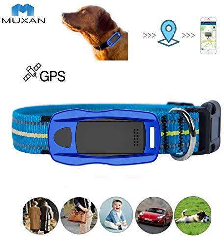 Hangang, localizzatore GPS per cani con SOS, dispositivo di localizzazione per cani leggero e impermeabile
