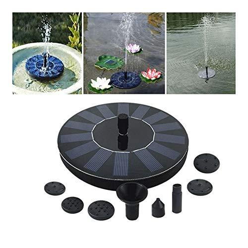 MINGMIN-DZ Dauerhaft Solarbrunnen Solar Mini-Wasser-Brunnen Garten Pool Teichpumpe Solar-Panel-Brunnen Schwimm Brunnen im Freien Garten-Dekoration
