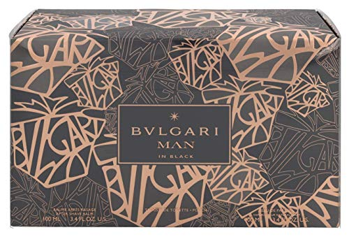 BULGARI MAN IN BLACK EDP 100ML + 100ML + AFTER SHAVE BALM NECESER
