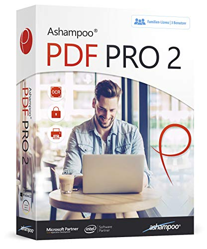 PDF PRO 2 inkl. OCR-Modul - PDFs einfach bearbeiten, konvertieren, kommentieren, erzeugen - Formulare erstellen & ausfüllen - für Windows 10, 8.1, 7