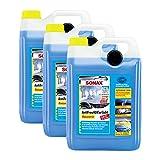 SONAX 3X 03325050 AntiFrost&KlarSicht Konzentrat Frostschutz Waschanlage 5L