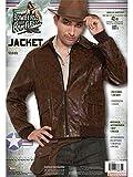 Forum Novelties mens 40s Costume Outerwear, Brown, Standard US