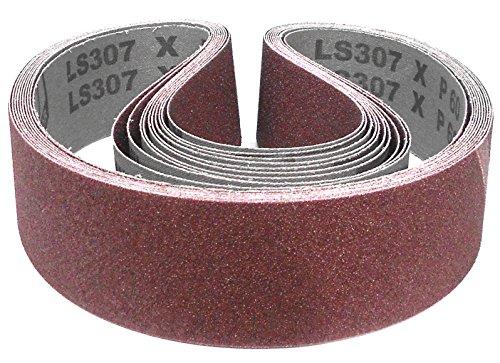 Klingspor LS 307 X Schleifband | 55 x 1020 mm | 10 Stück | Körnung: 60