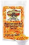 Duritos (Duros) Mexican Wheat Pellets Snack Large Tubes, 1 Lb Bag – Tubos De Harina de Trigo para Freir - by Turinos