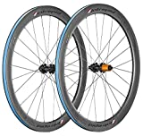Intrepid Handcrafted Carbon Fiber Road Bike Wheelset 700c 50mm Depth Disc Brake for Road...