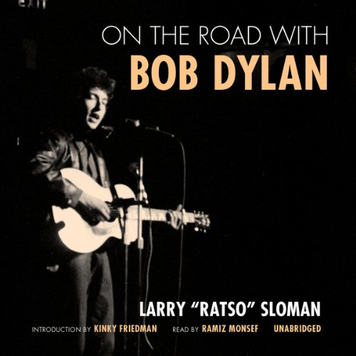 On the Road with Bob Dylan audiobook cover art