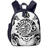 Kinderrucksack Kleinkind Jungen Mädchen Kindergartentasche Tribe Turtle Aggressive Backpack...