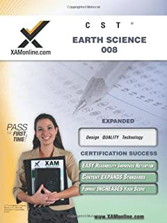 NYSTCE CST Earth Science 008: teacher certification exam (XAMonline Teacher Certification Study Guides)