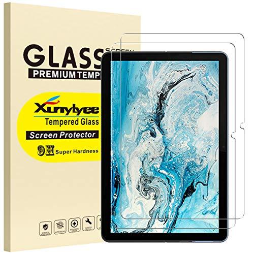 XunyLyee [2 Stück] Panzerglas Schutzfolie Kompatibel mit Lenovo IdeaPad Duet Chromebook, Einfache Installation Gehärtetem Glas Bildschirmschutz für Lenovo Chromebook Duet (10.1 Zoll)
