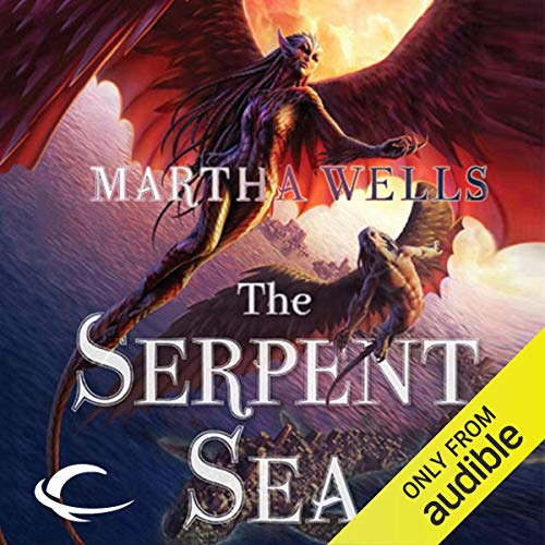 The Serpent Sea audiobook cover art