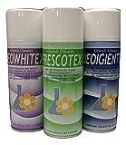 Rampi Igien Deo Whitex Frescotex Igientex - Spray Deodorante Igienizzante Professionale Tessuti Ambiente Auto Cassetti Scarpe Armadio Profumo Hotel Palestra Accessori Lavanderia - 3 Pezzi da 400 ml