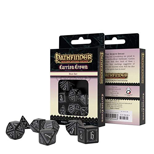 Q-Workshop Pathfinder: Carrion Crown Set Dadi (7)