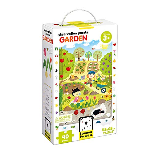 OBSERVATION PUZZLE GARDEN AGE