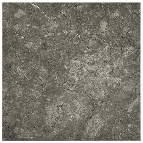 vidaXL 55x PVC-Fliesen Selbstklebend Vinyl-Fliesen Bodenbelag Vinylboden Laminat Dielen Laminatboden Fußboden Fliese Wohnzimmer 5,11m² Grau