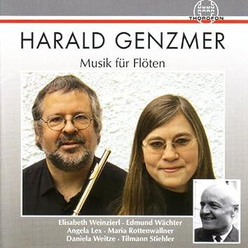 Harald Genzmer: Musik für Flöten