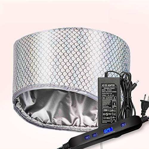 Vaporizador Térmico Eléctrico Gorro Para El Cabello LCD Tapa De Calefacción De...