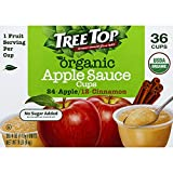 Tree Top Organic Apple Sauce Cups Variety Pack, 4 oz., 36 Cups