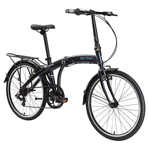Durban Street Folding Bike- Black