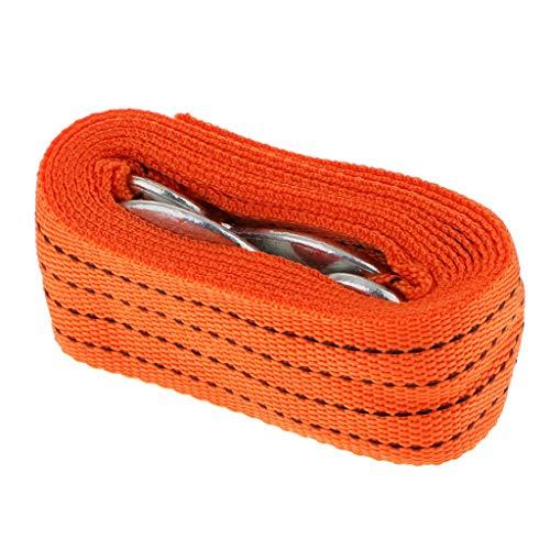 Betrothales 3m 10000lb abschleppseil auto lkw pkw abschleppgurt abschleppschlinge bergegurt - orange Sale Coole Sachen (Color : Orange-Size)