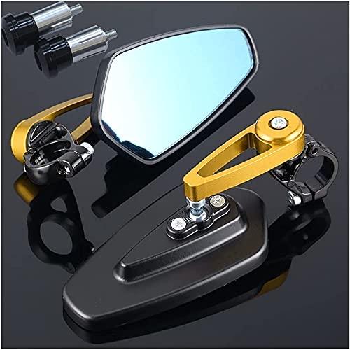 Specchi da moto Impostare lo specchio da motociclo CNC Rearview laterale di CNC per BMW R 1250 GS K1200RS 310GS K1300S R1200R F750GS R1150R Retrovisor Motorcycle Specchio manubrio lato estremo lato re