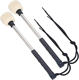 Timiy Bass Drum Mallet Wool Felt Head Percussion...