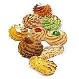 Biscotti siciliani di pasta di mandorle | Box regalo 600 gr | Confezioni sigillate monoporzione | Biscotti assortiti, direttamente da laboratorio artigianale | Dolci siciliani | Pasta di mandorla
