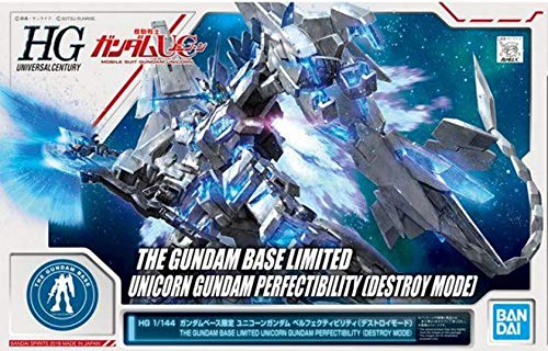 Bandai HG 1/144 THE GUNDAM BASE LIMITED Unicorn Gundam Perfectibility [Destroy Mode]