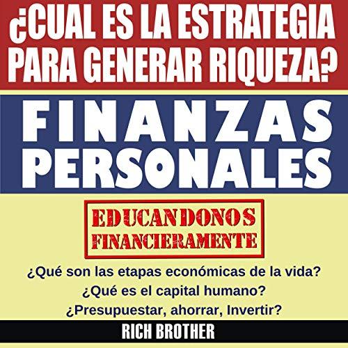 Finanzas Personales [Personal Finance] audiobook cover art