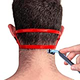 Neck Hair Guide,Neckline Shaving Template - A Stencil for Neckline Haircuts,Keeping Clean and Straight Neck Hairline,DIY Do-it-yourself