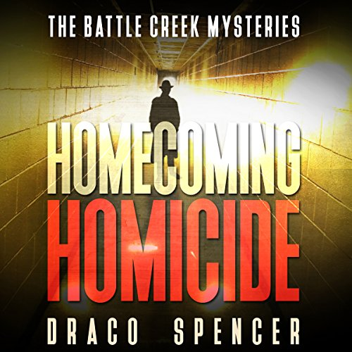 Homecoming Homicide audiobook cover art
