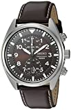 Best Swiss Watches For Men - Seiko Men's SNN241 Stainless Steel Watch with Brown Review