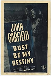 Dust Be My Destiny Movie Poster (27 x 40 Inches - 69cm x 102cm) (1939) -
