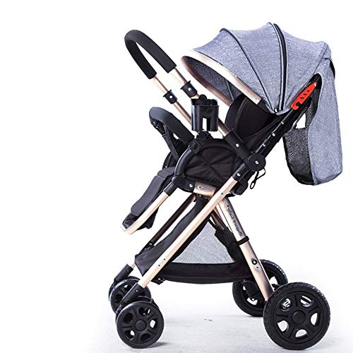 Find Discount MAGO Stroller Handle Reversible Stroller Can Sit Down and Lie Down Ultralight Portable...