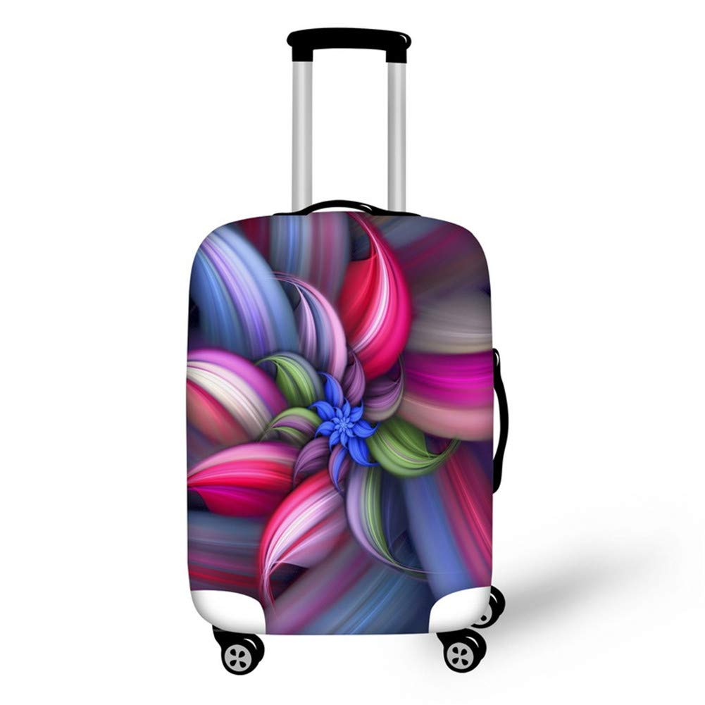 Floral Dust proof Travel Hiking Luggage