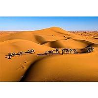 ジグソーパズル砂漠のラクダチームの風景シリーズのおもちゃの贈り物大人の子供たち良い挑戦木製リラックス家族タイムゲーム500-2000個 0121 (Color : Partition, Size : 4000 pieces)