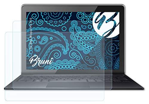 Bruni Schutzfolie kompatibel mit Odys Winpad Pro X10 Folie, glasklare Bildschirmschutzfolie (2X)