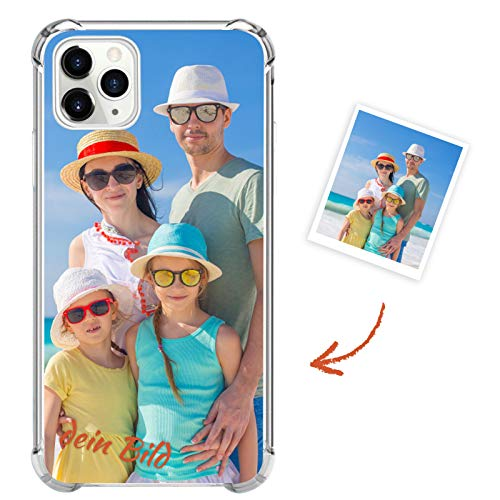 Suhctup Personalisierte Handyhüllen mit Eigenem Foto Bedrucken für Huawei Honor 20 / Nova 5T, Klar Weich Silikon Hülle Selbst Gestalten Zum Anpassen, Ultra Dünne Fallschutz Schutzhülle Tasche