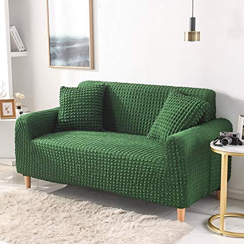 Fsogasilttlv Funda Elástica para Sofá 2 plazas y 4 plazas 2 Piezas, Fundas de sofá elásticas elásticas, Funda de sofá seccional para sofá de Esquina para Sala de Estar