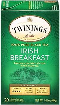 6-Pack of 20-Count Twinings of London Irish Breakfast Black Tea Bags